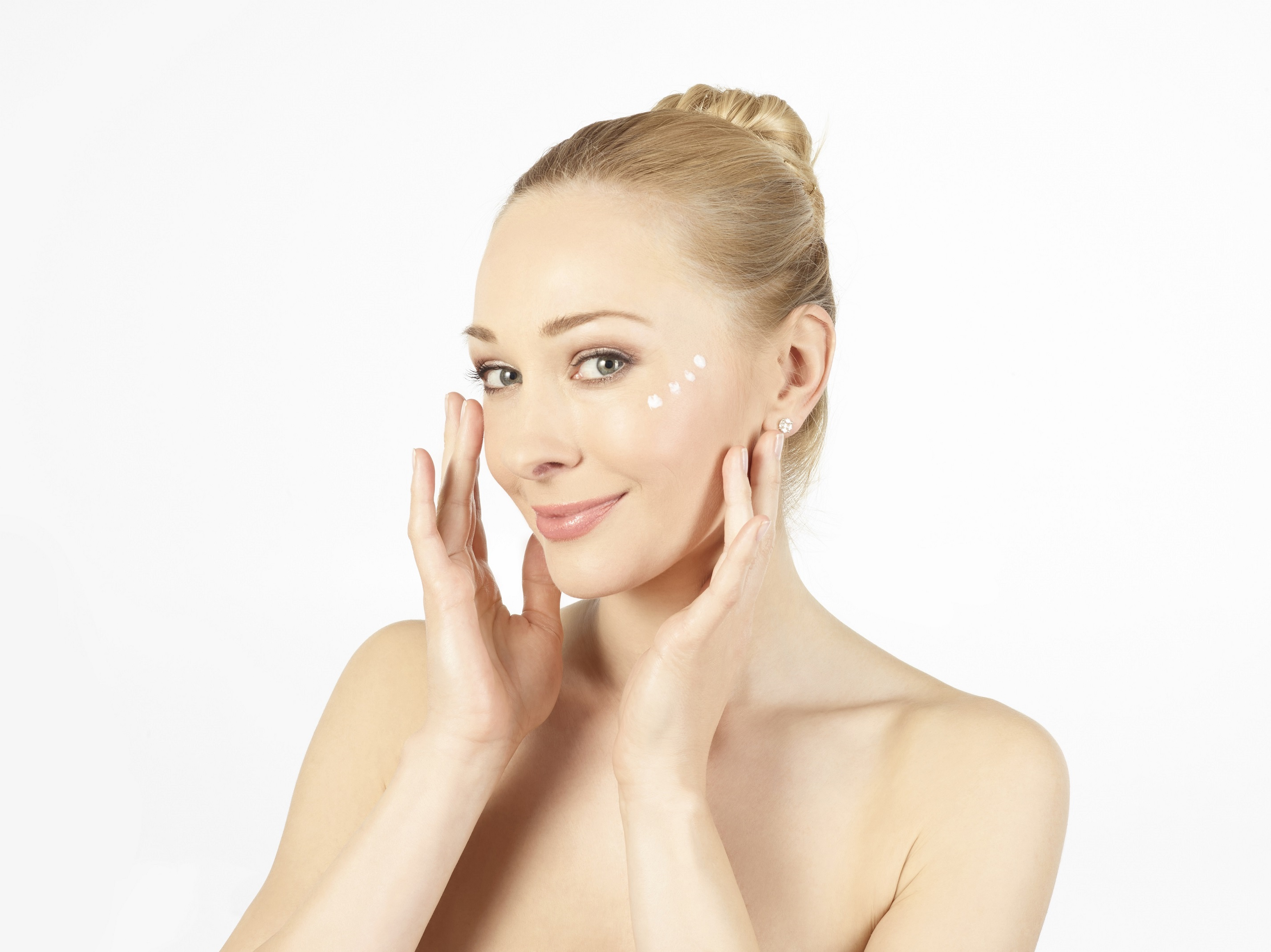 Gesichtspflege Model