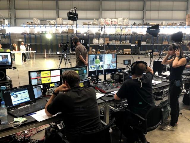 Produktion virtuelles Event